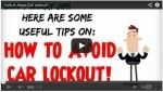 How to avoid Car lockout?